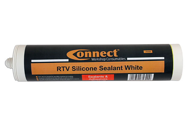 35320 RTV Silicone Sealant White 300ml Cartridge Box 12pc