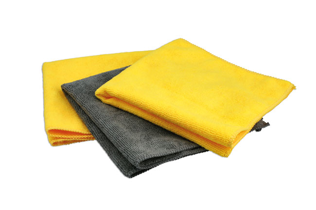 35354 Microfibre Cloths Set 3pc