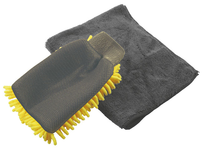35355 Microfibre Wash Mitt 2pc
