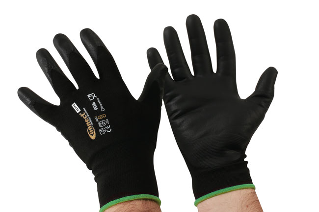 35375 Mechanics Cut Resistant Gloves - Large 3 Pairs