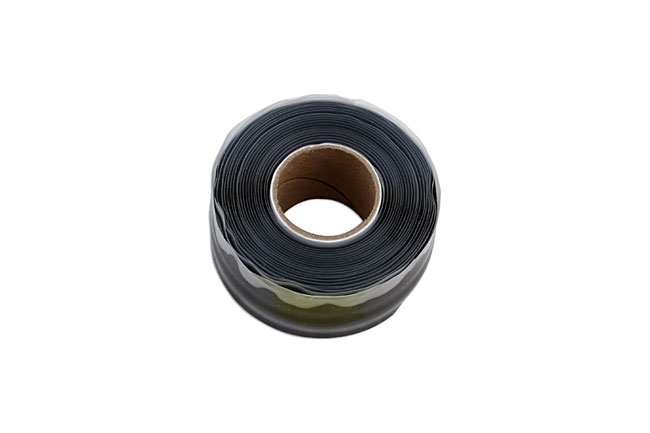 35492 Black Silicone Self Fusing Tape 25mm x 3m - Pack 1