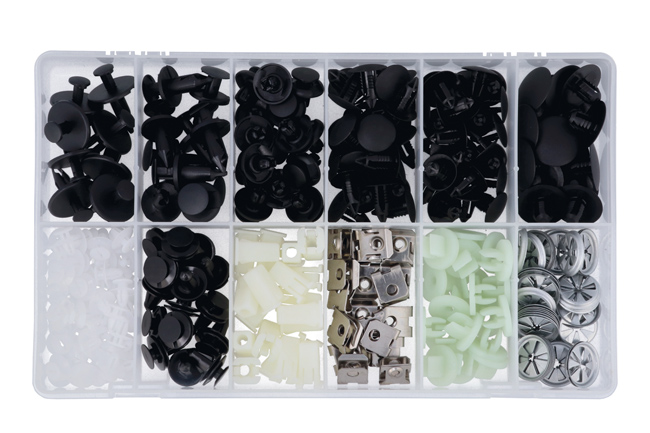 35986 Asstd Trim Clips to suit Ford Fiesta - 273 Pieces