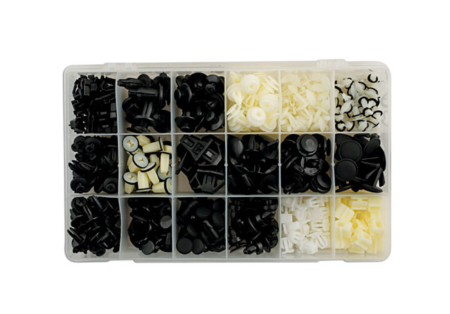 36009 Honda Assorted Trim Clips 418pc