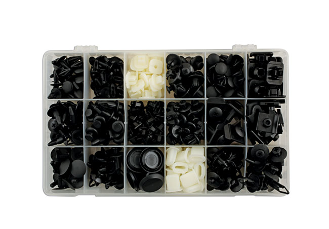 36017 Nissan Assorted Trim Clips - 408 Pieces