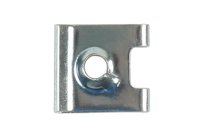 36986 Metal Trim Clip U Nut to suit VAG, BMW & Mercedes - Pack 10