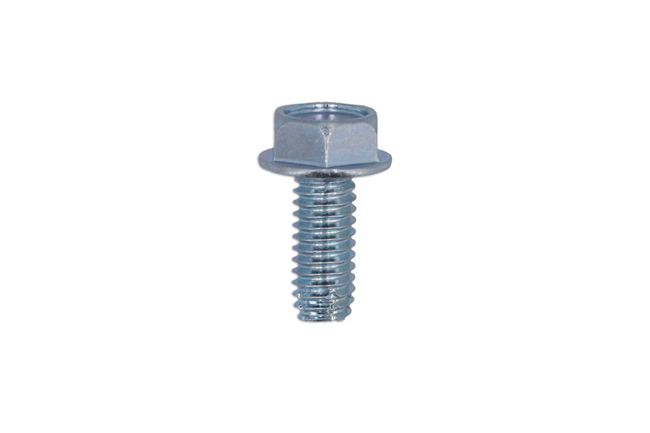 36432 Flanged Hexagon Head Body Screw - Pack 50