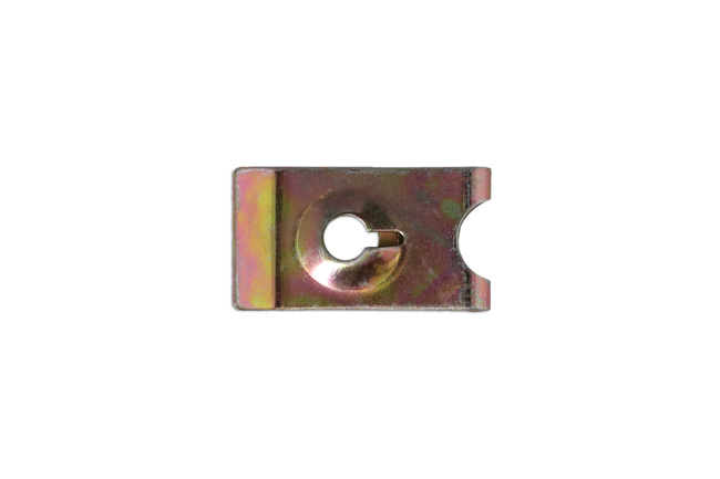 36436 Zinc U Nut 26mm x 14.6mm 50pc