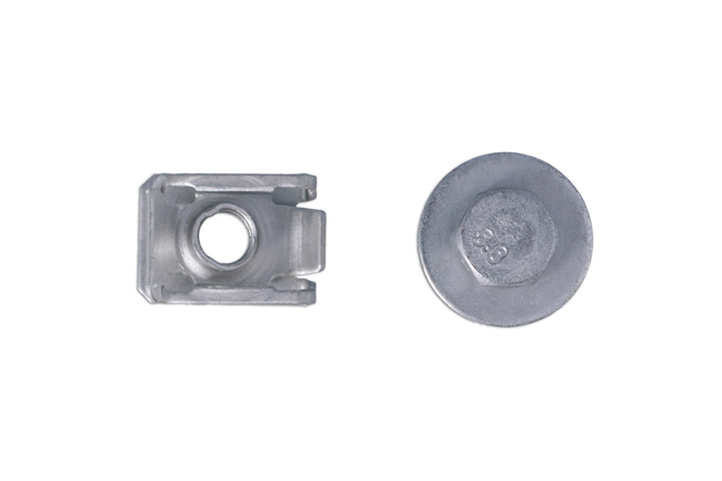 36437 Body Screw With Washer & U Nut - Pack 50
