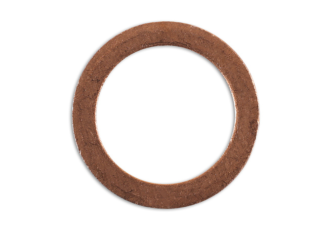 36781 Sump Plug Washer Copper 12mm x 17mm x 1.5mm - Pack 10