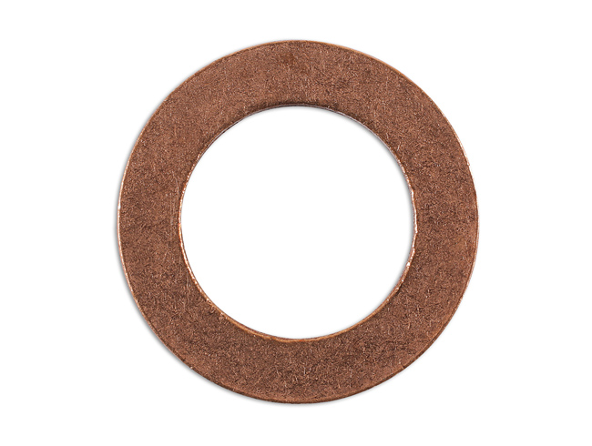 36802 Sump Plug Copper Washer 16.3mm x 25mm x 2mm - Pack 10