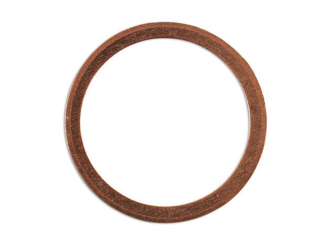 36808 Sump Plug Copper Washer 22mm x 27mm x 1.5mm - Pack 10