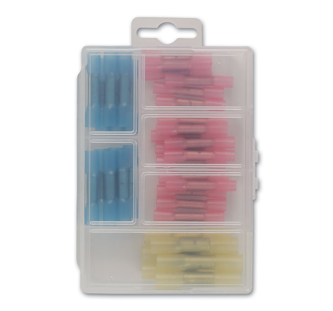 36817 Assorted Mini Box Heat Shrink Butt Connectors - 36 Pieces