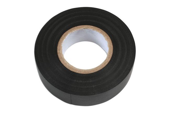 36887 Black PVC Insulation Tape 19mm x 20m - Pack 1