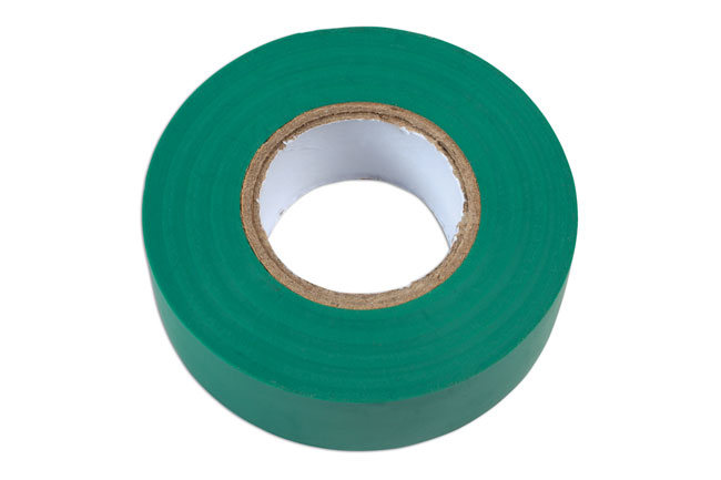 36890 Green PVC Insulation Tape 19mm x 20m - Pack 1