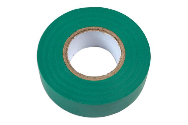 30377 Green PVC Insulation Tape 19mm x 20m 10pc