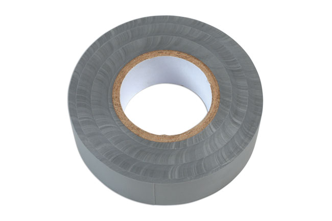 36892 Grey PVC Insulation Tape 19mm x 20m - Pack 1