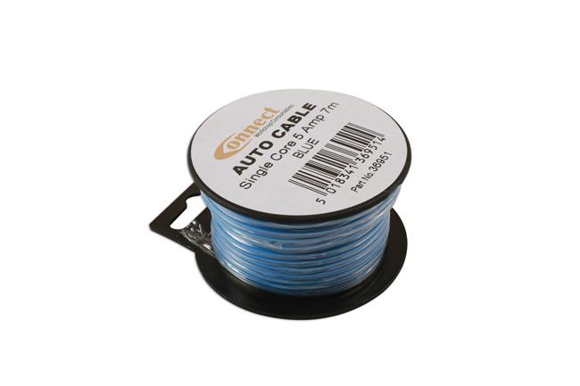36951 Mini Reel Automotive Cable 5A Blue 7m