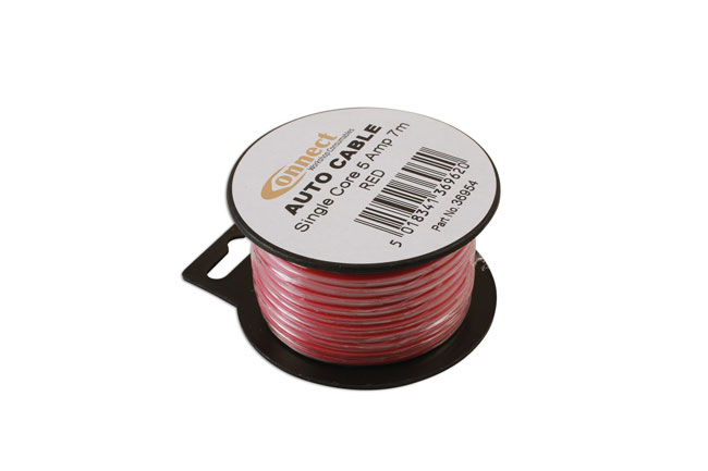 36954 Mini Reel Automotive Cable 5 Amp Red 7m