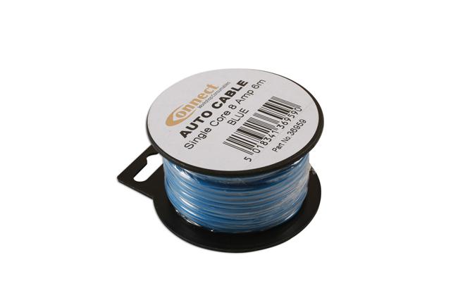 36959 Mini Reel Automotive Cable 8A Blue 6m