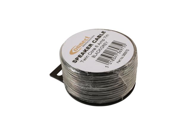 36975 Mini Reel Automotive Twin Speaker Cable 2 x 24/0.20 7m