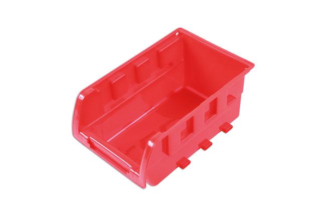 36991 Red Storage Bins 160mm x 103mm x 72mm 20pc
