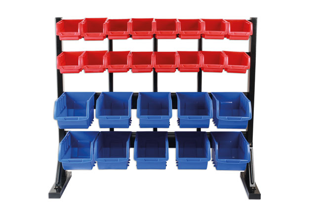 ~/items/xlarge/ image of Connect Workshop Consumables | 36997 | 26 Storage Bin Work Top Stand