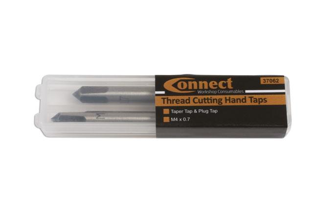 37062 Tap M4 x 0.7 Taper Tap & Plug Tap 2pc from 4554