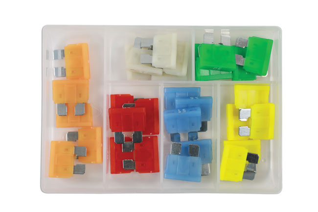 37156 LED Standard Blade Fuse Assorted Box 30pc