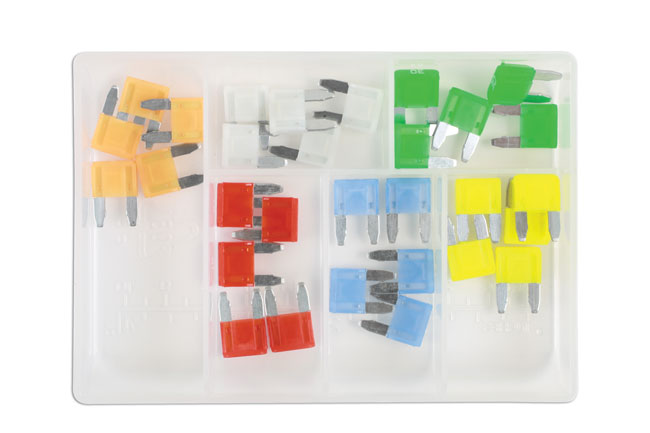 37157 LED Mini Blade Fuse Assorted Box 30pc