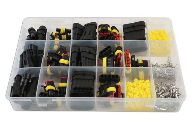 ~/items/xlarge/ image of Connect Workshop Consumables | 37225 | Assorted Automotive Electric Supaseal Connector Kit - 424pc