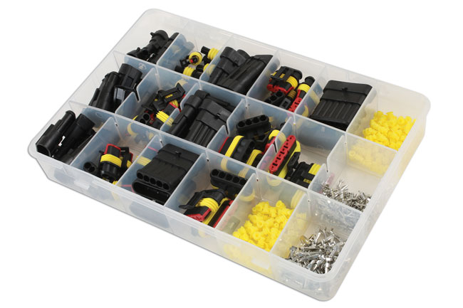~/items/xlarge/Left image of Connect Workshop Consumables | 37225 | Assorted Automotive Electric Supaseal Connector Kit - 424pc