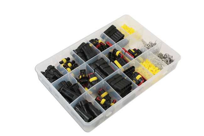 ~/items/xlarge/Right image of Connect Workshop Consumables | 37225 | Assorted Automotive Electric Supaseal Connector Kit - 424pc