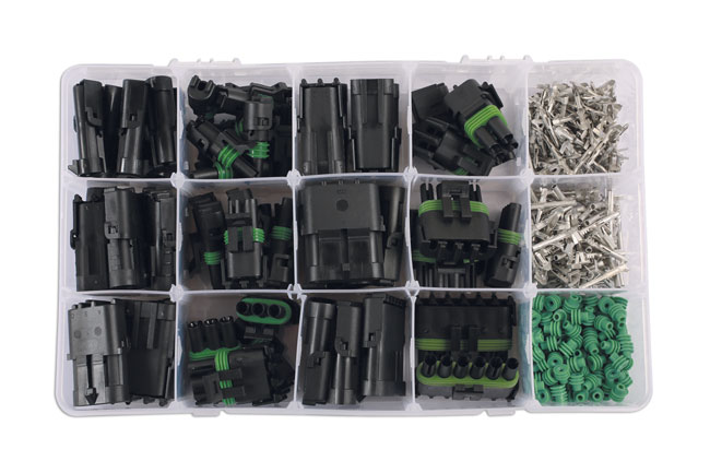 37325 Assorted Automotive Electric Delphi Weatherproof Kit 426pc