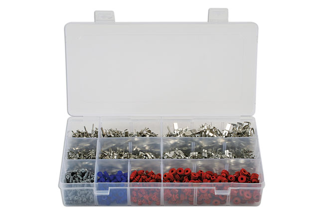 ~/items/xlarge/ image of Connect Workshop Consumables | 37399 | Assorted Non Insulated VW Terminals/Seals - 1200 Pieces