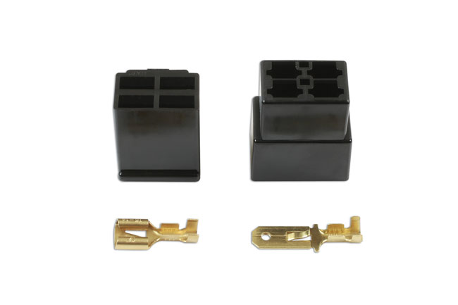 37404 250 Type Connector 4 Pin Kit - 10 Pieces
