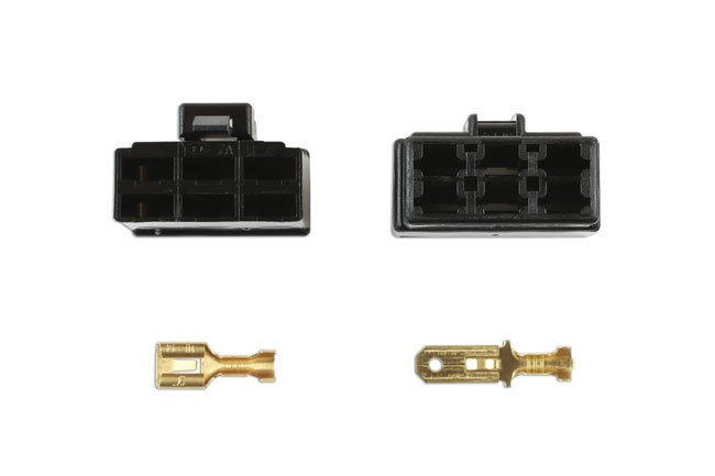 ~/items/xlarge/Top image of Connect Workshop Consumables | 37405 | 250 Type Connector 6 Pin Kit - 14 Pieces