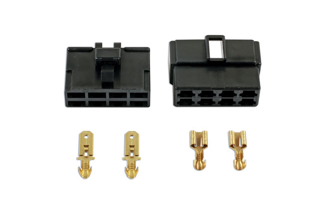 37406 250 Type Connector 8 Pin Kit - 18 Pieces