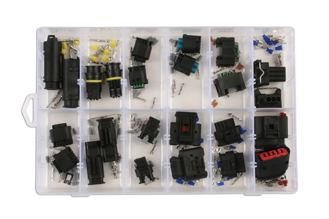 37410 Assorted BMW/Mercedes Electrical Connector Kit 24pc