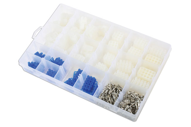 ~/items/xlarge/Left image of Connect Workshop Consumables | 37416 | Asstd Mate-N-Lok Electrical Connector Kit - 325 Pieces