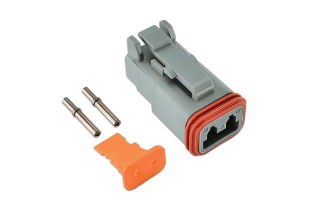 ~/items/xlarge/Group image of Connect Workshop Consumables | 37498 | Deutsch 2 Pin Plug Connector Kit - 4 Pieces