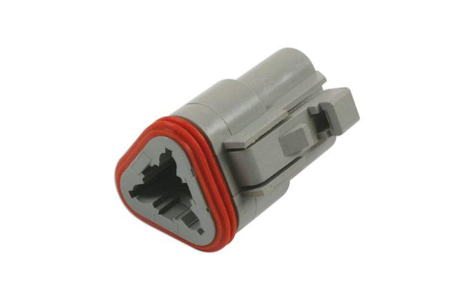37499 Deutsch 3 Pin Plug Connector Kit 5pc