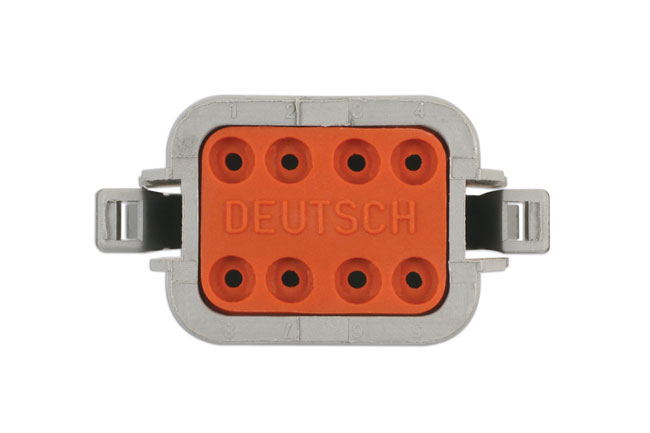 Laser Tools 37502 Deutsch 8 Pin Plug Connector Kit 10pc