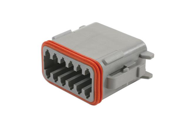 37503 Deutsch 12 Pin Plug Connector Kit 4pc