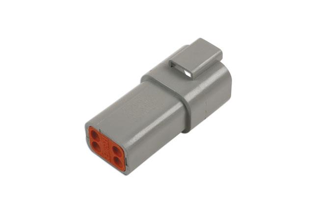 37506 Deutsch 4 Pin Receptacle Connector Kit 6pc