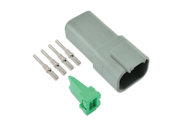 Laser Tools 37506 Deutsch 4 Pin Receptacle Connector Kit 6pc