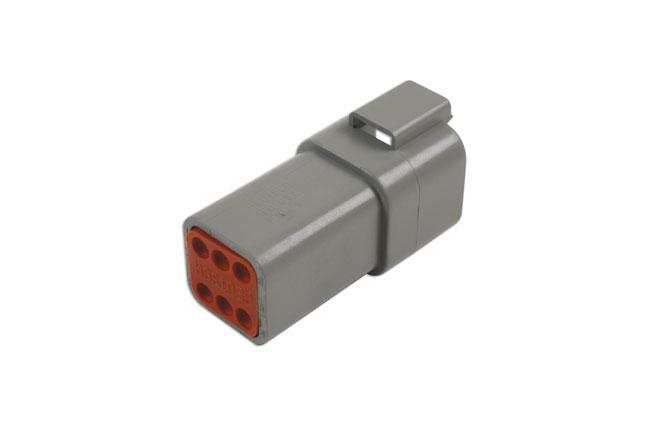37507 Deutsch 6 Pin Receptacle Connector Kit 8pc