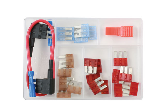 37525 Micro 3 Blade Fuse Assortment Kit 23pc