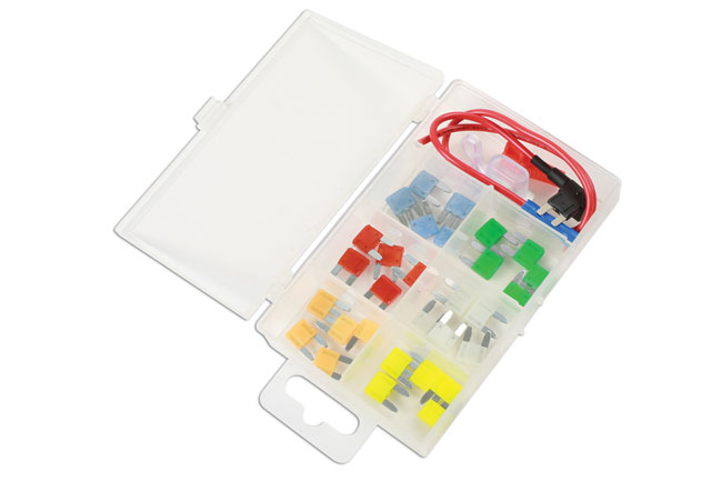~/items/xlarge/Left image of Connect Workshop Consumables | 37526 | Mini Blade Fuse  Assortment Kit - 33 Pieces