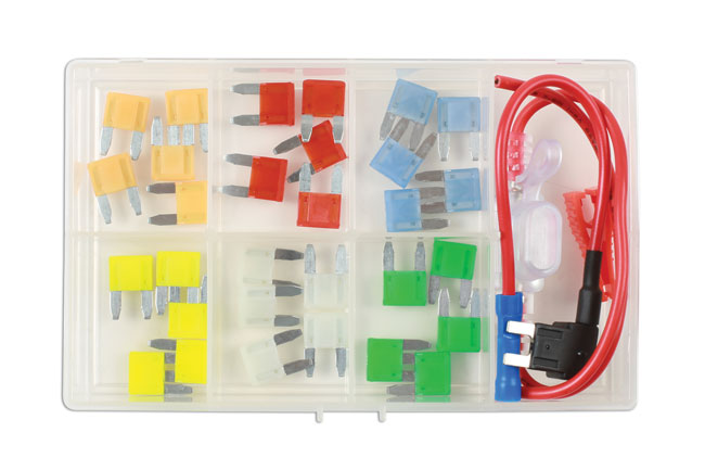 37526 Mini Blade Fuse  Assortment Kit - 33 Pieces