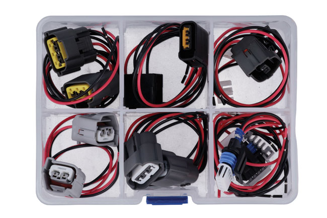 37664 Assorted Wiring Ignition Coil Harness Connector Kit 12pc